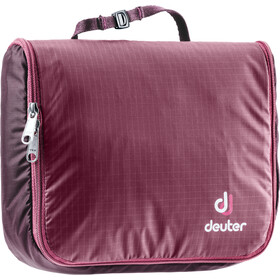 Deuter Wash Center Lite I Kulturbeutel 1,5l maron-aubergine